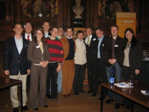 Die Teilnehmer der beiden Heidelberger Showdebatten