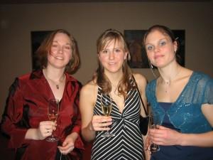 (v.l.) Karen, Julia und Wiebke