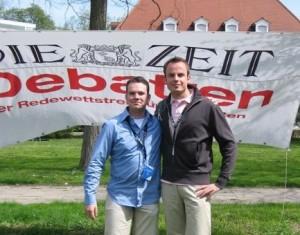 Das Finalteam Volker und Henrik (v.l.)