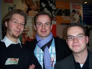 Die Sieger (von links nach rechts) Roman Kremer, Henrik Volpert und Volker Tjaden