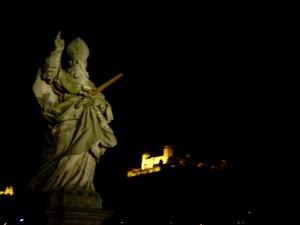 Nicht nur in Sachen Turnier ein Erlebnis - Blick auf die Würzburger Nacht