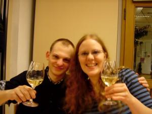 Weinprobe Sieger wurde der 2006 Kendermanns Late Harvest (süß)