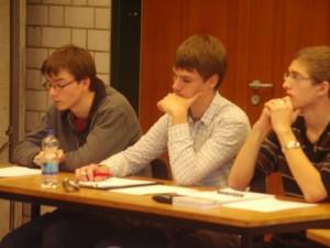 Erstmals mit dabei Ein Schülerteam aus Reutlingen