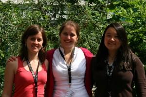 Unsere Töchter der Persephone Sarah John, Thea Nesyba und Iris Reuter