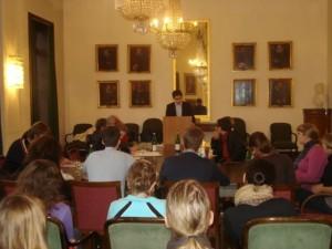 Das Finale im kleinen Senat der Uni Tübingen