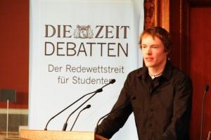 Finalredner Philipp Stiel