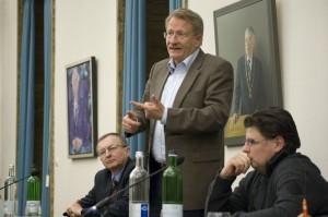 Podiumsredner im Tübinger Forum