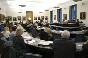 Ein voller Großer Senat zum Thema Bürgerliche Mitbestimmung