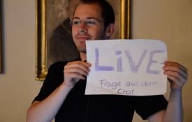 Per Live-Stream aus Tübingen in die Welt