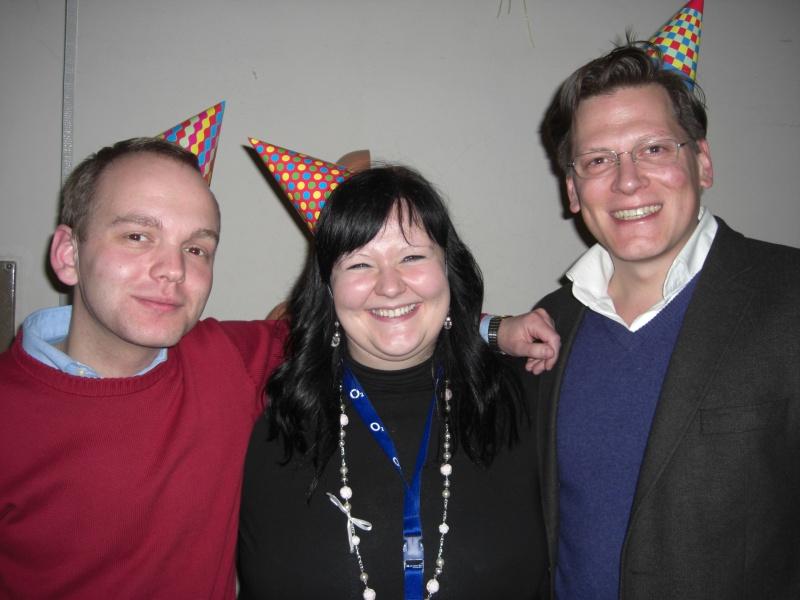Die Sieger des SK-Cups 2011: Sven Hirschfeld, Daniel Sommer, Franzi Kriegelstein