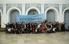 Streitkultur auf der ZEIT-Debatte in Hamburg