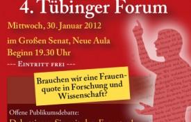 4. Tübinger Forum