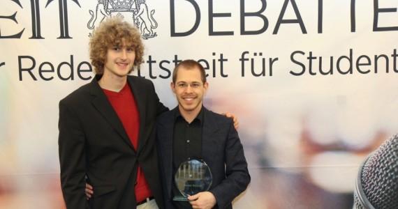 Streitkultur bei der ZEIT Debatte in Frankfurt a. M.